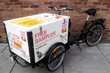 Icicle Tricycles Pet Food Bike - Advertising Bike