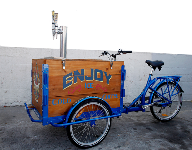 IceTrike Cold Brew Coffee Tricycle