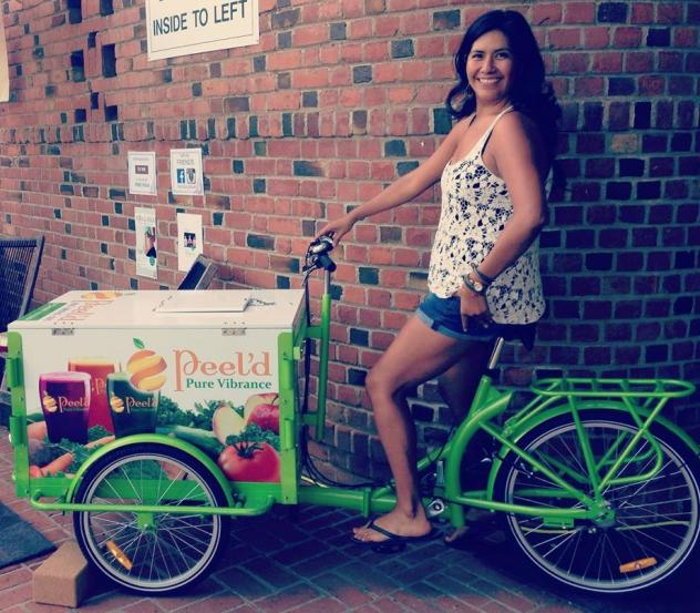 Icicle Tricycles Cold Press Mobile Juice Bar Trike