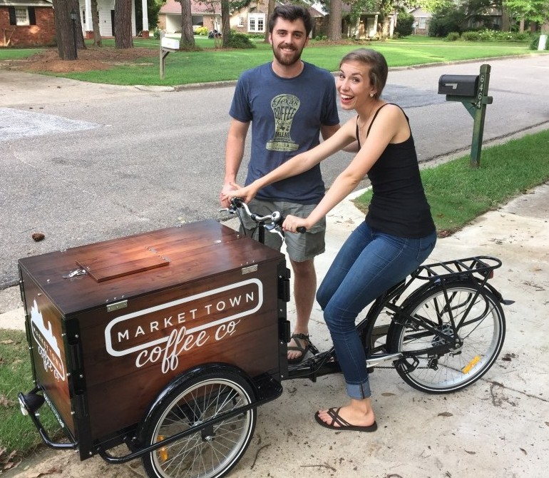 Cold Brew Coffee Cart by Icicle Tricycles