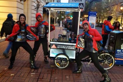 Icicle Tricycles Experiential Marketing Bike Campaign