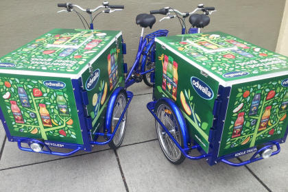 Grocery Bikes, Grocer Delivery Tricycles