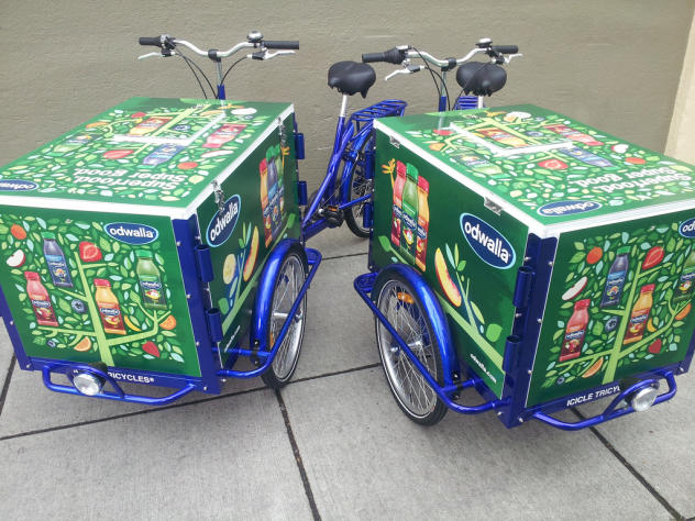 Mobile juice bar bikes by icicle tricycles