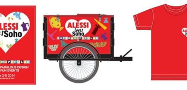 Alessi Loves SOHO Clothing Bike by Icicle Tricycles
