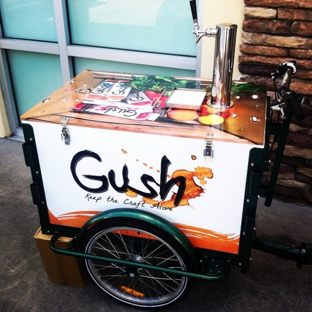 Gush Mobile Juice Bar - Icicle Tricycles Juice Bar Bike