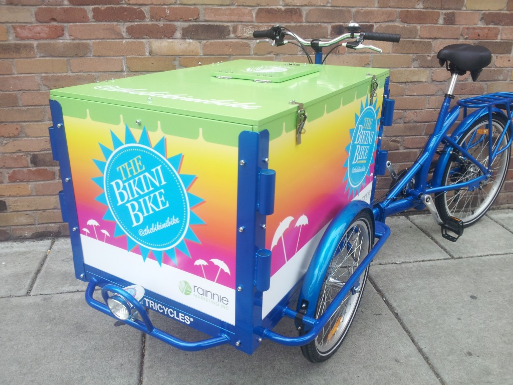 Icicle Tricycles Advertising Bike