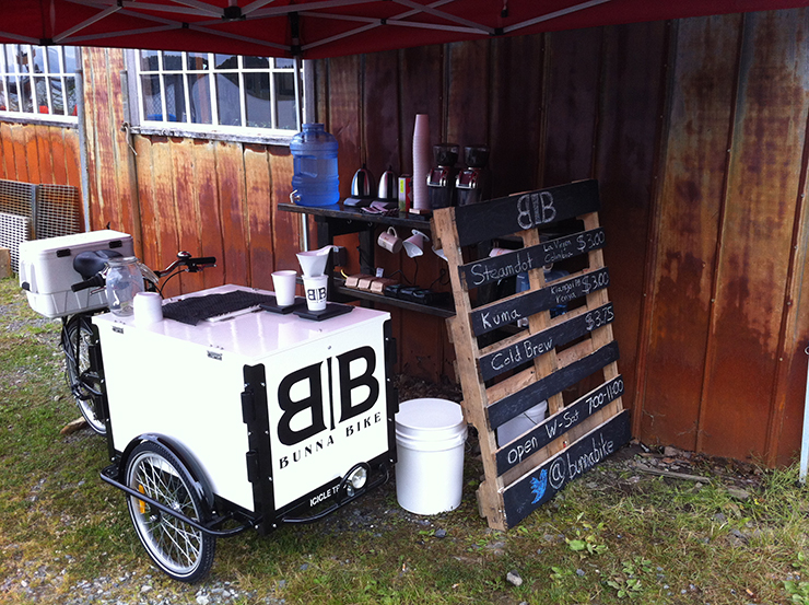 The Velopresso Bike is a Pedal-Powered Mobile Coffee Shop ...
