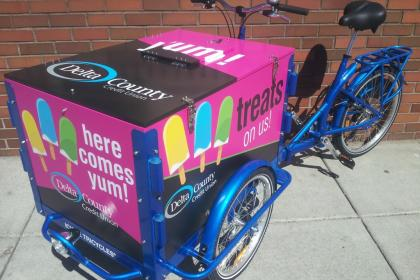 Icicle Tricycles Bank Bike - Ice Cream Bike