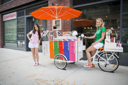 Icicle Tricycles Marketing Bike - Product Sampling Bike