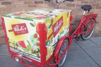 Icicle Tricycles Experiential Marketing Bike - Popsicle Bike