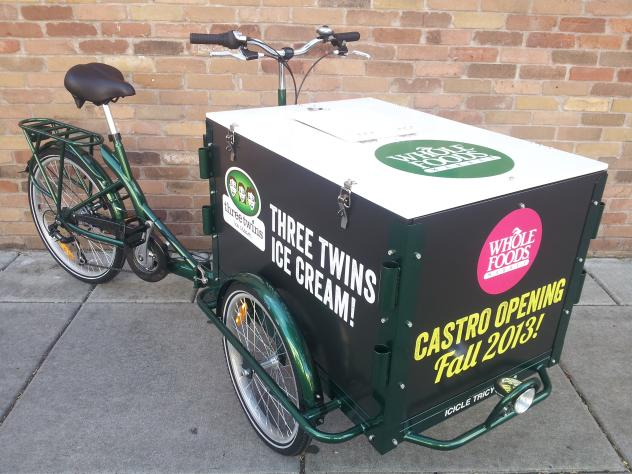 Grocery Delivery and Marketing | The IceTrike Grocery Bike