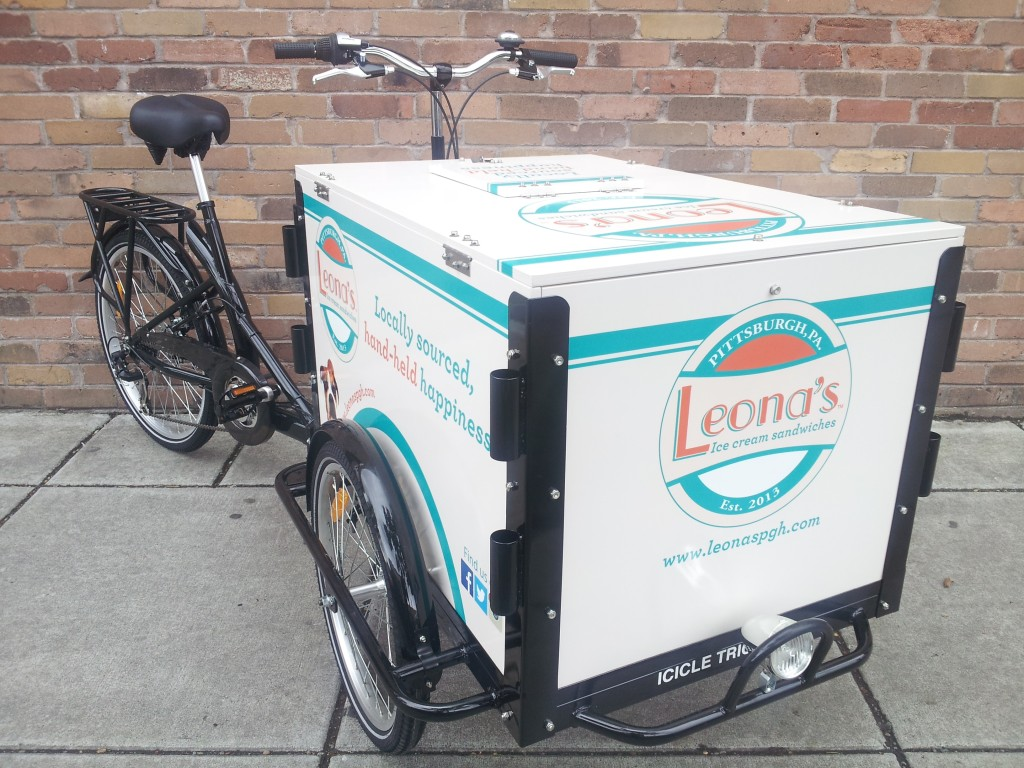 Icicle Tricycles Ice Cream Marketing Bike
