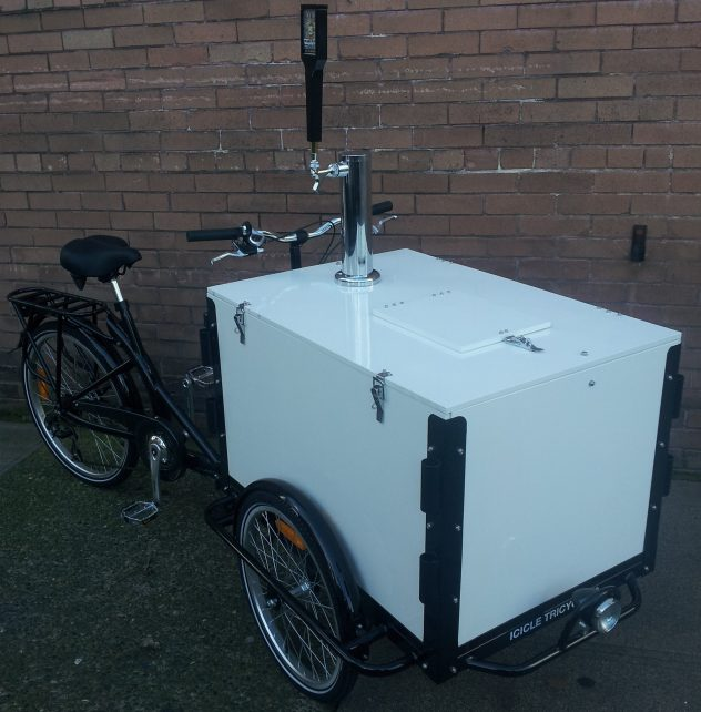 mobile beverage cart