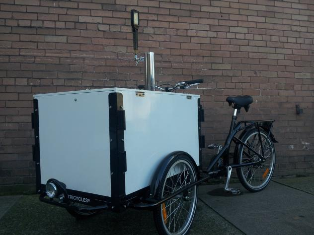 Icicle Tricycles Kombucha Bike - Cider Bike Beverage Cart