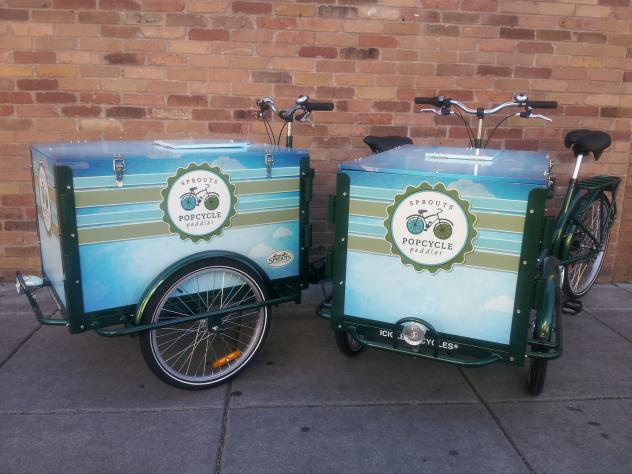 Grocery Tricycles, Icicle Tricycles
