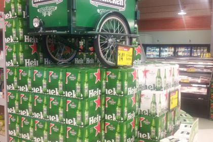 Icicle Tricycles Beer Bike - Experiential Marketing Bike