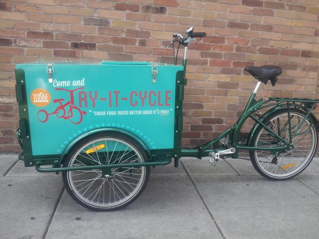 Grocery Delivery Trike - Food Bike Marketing
