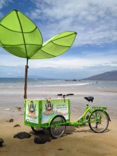 Icicle Tricycles Popsicle Bike - Experiential Marketing Bike