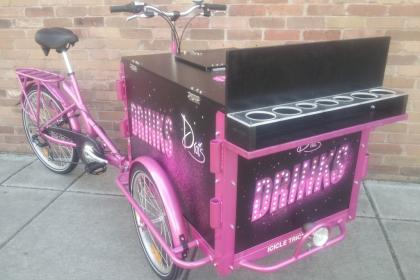 Icicle Tricycles Drink Bike - Custom Marketing Bike