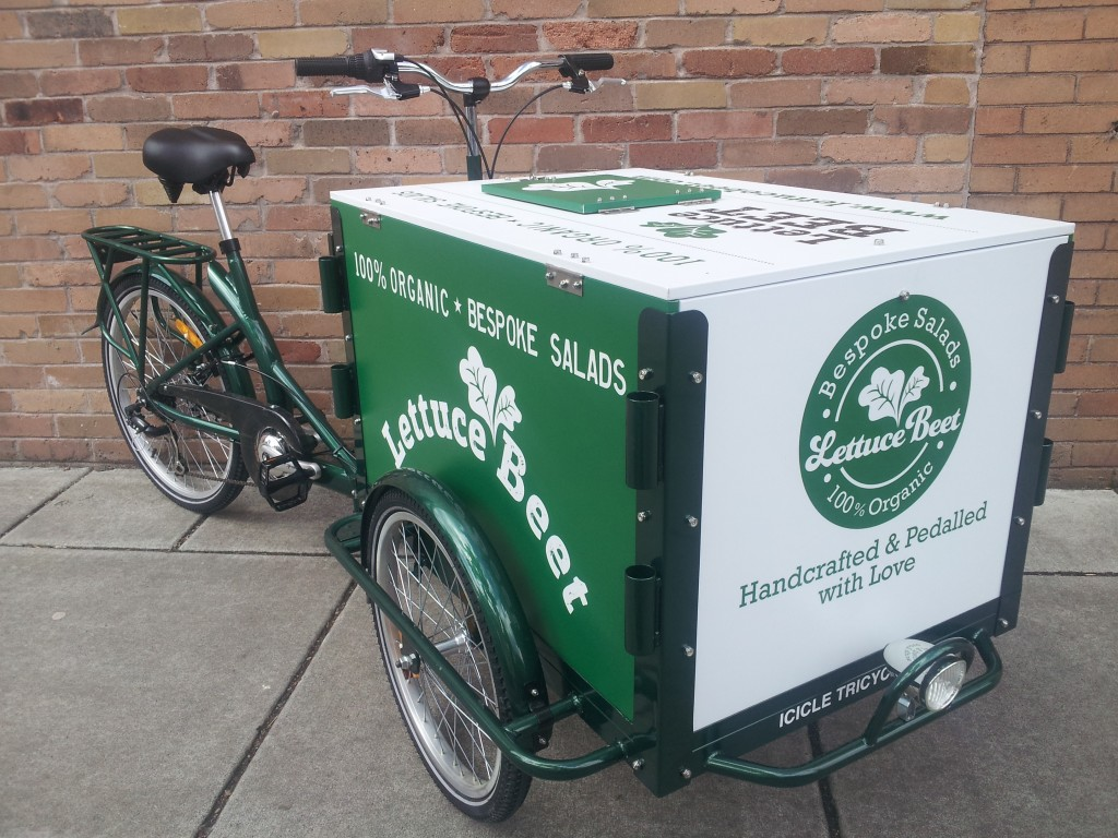 Icicle Tricycles Food Cart