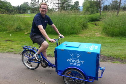 Icicle Tricycles Experiential Marketing Bike - Water Bike