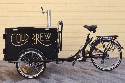 Cold Brew Coffee bike, coffee bike, coffee trike, Nitro trike