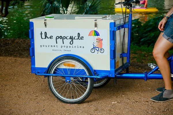 Icicle Tricycles Popsicle Ice Cream Bike for Popcycle, Austin, TX