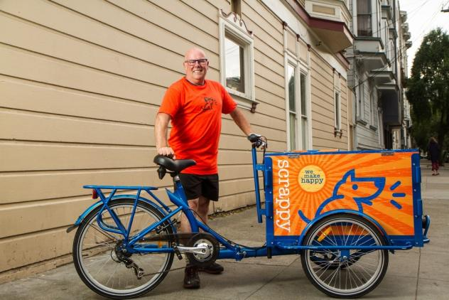 Icicle Tricycles Pet Food Bike