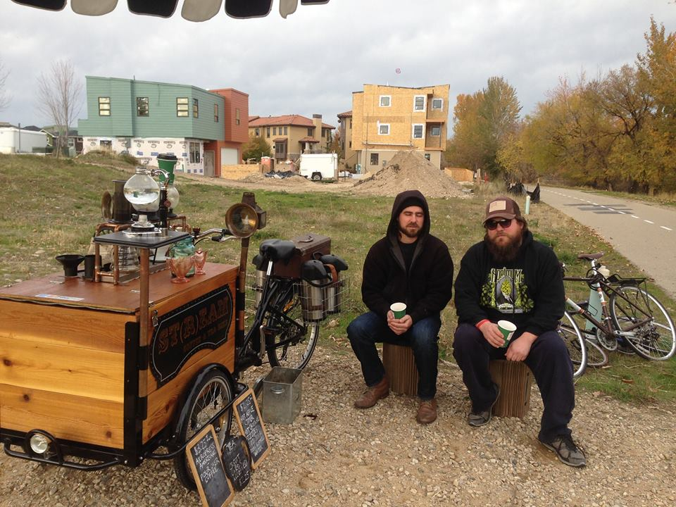 Stream Coffee and Teas - Icicle Tricycles Coffee Bike