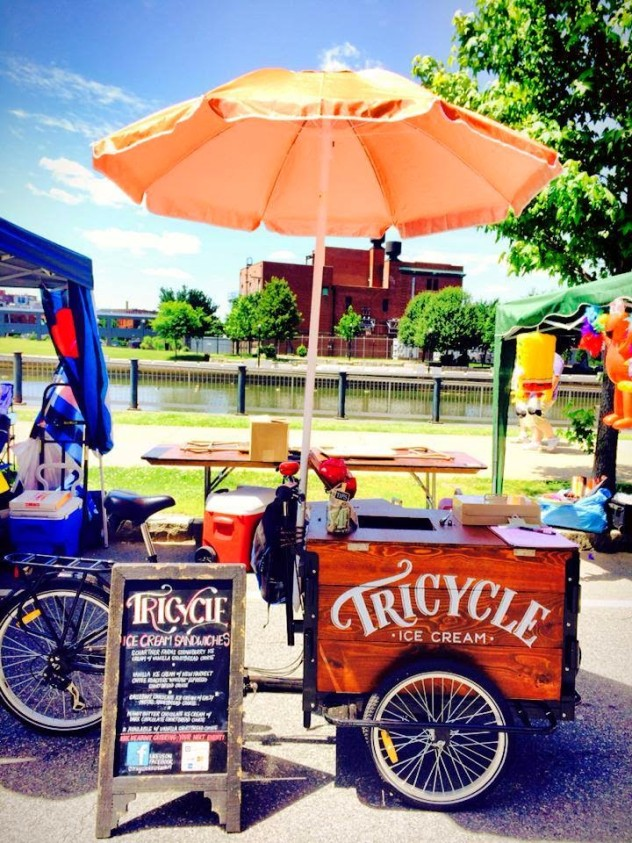 Tricycle Ice Cream Sandwiches - Icicle Tricycles Ice Cream Bike - Custom Cargo Bike