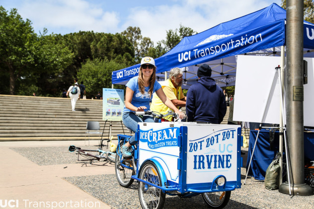UC Irvine Brand Engagement Bike