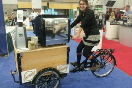 Icicle Tricycles Coffee Bike