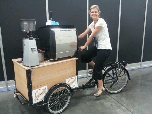 Icicle Tricycles Coffee Bicycle
