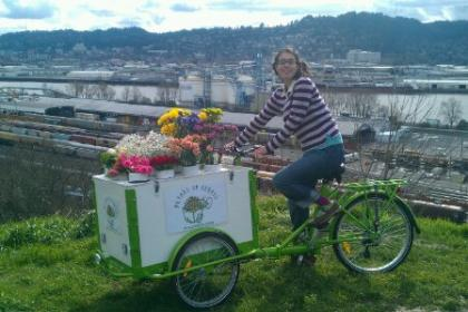 Icicle Tricycles Flower Bike Business
