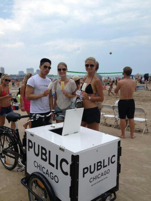 Icicle Tricycles Ice Cream Bicycle for Experiential Marketing Bike