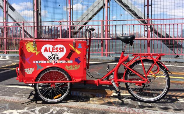 Icicle Tricycles Art Bike - Alessi Loves SOHO