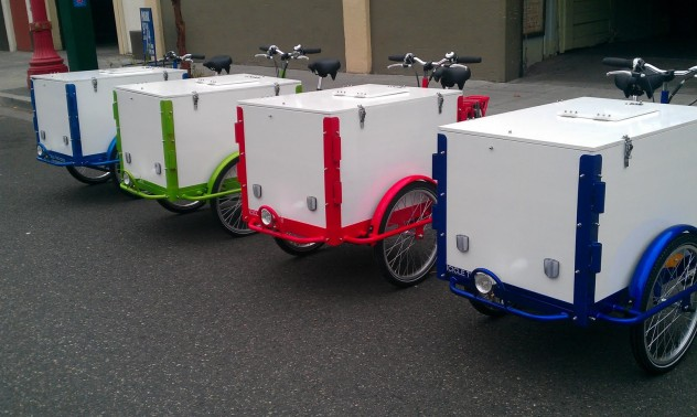 Experiential Marketing Bike Fleet