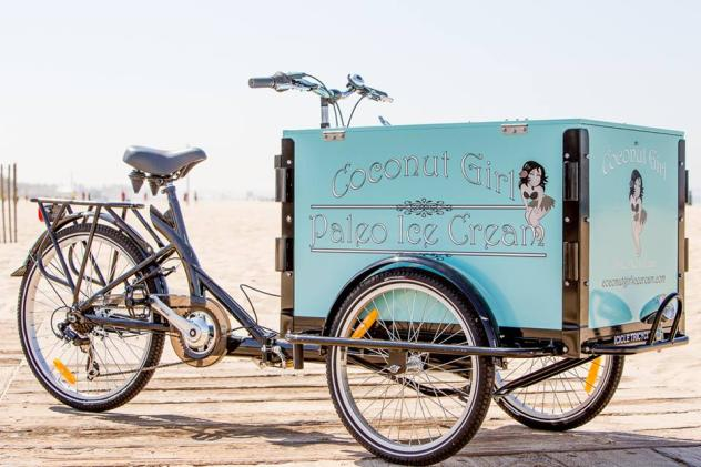 Icicle Tricycles Ice Cream Trike for Coconut Girl Paleo Ice Cream