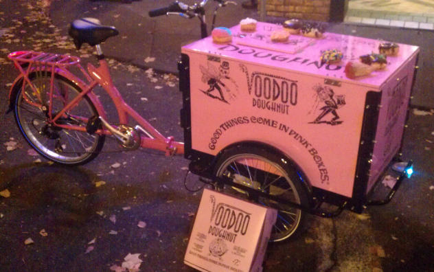 Icicle Tricycles Bike Bread Delivery