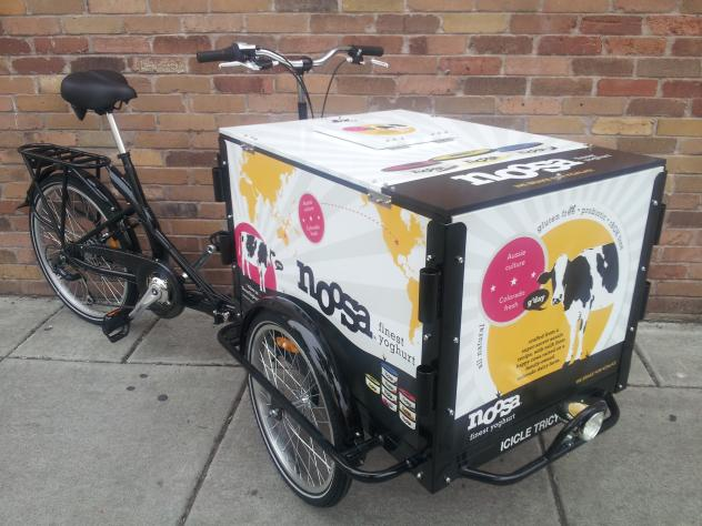 Icicle Tricycles Yogurt Bike - Dairy and Yogurt Marketing - Noosa Yogurt