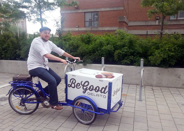Icicle Tricycles Gelato Bike - Be Good Gelato