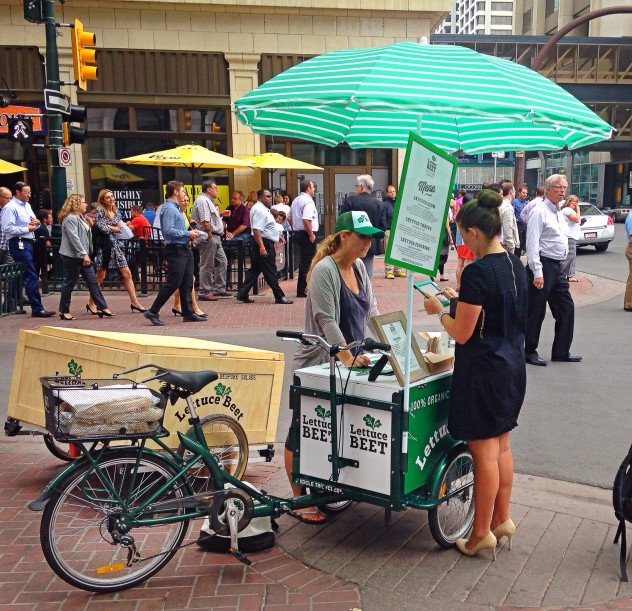 Icicle Tricycles Food Bike - LettuceBeetYYC Salad Bike