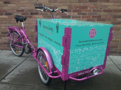 Icicle Tricycles Cupcake Bike - Pastry Bikes by Icicle Tricycles