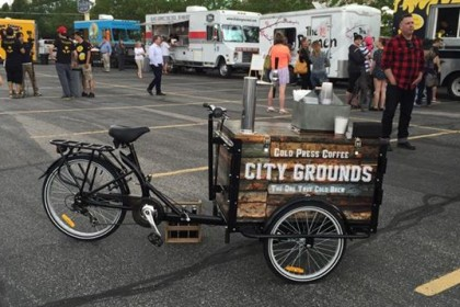 City Grounds Coffee - Icicle Tricycles Cold Brew Coffee Trike