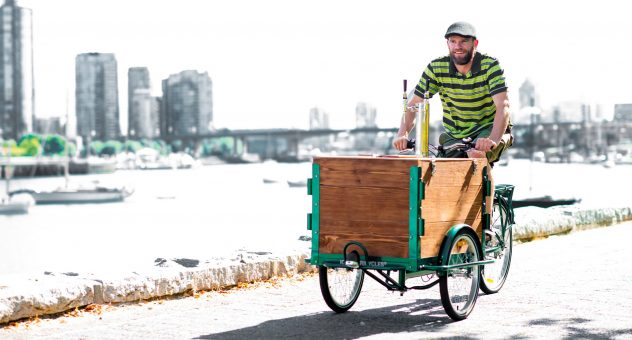cold brew coffee bike