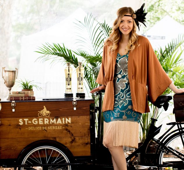 mobile beverage cart bike