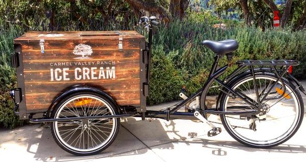 Carmel Valley Ranch Ice Cream Tricycle