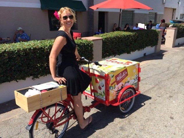 Popsicle Bike Cart Popsicles Creamsicles Fudgsicles Icies