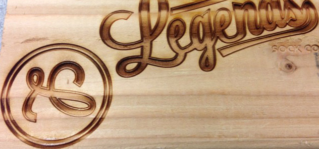 wood burning and laser engraving