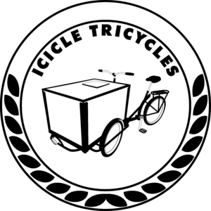 Icicle Tricycles Ice Cream Bike Logo